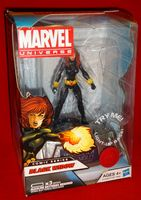 Marvel Universe: Exclusive Comic Series with Light-Up Base Black Widow